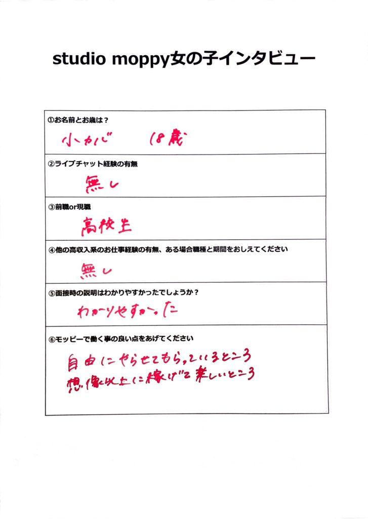 子カバさんアンケート